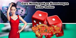 Cara Mendapatkan Keuntungan Sicbo Online