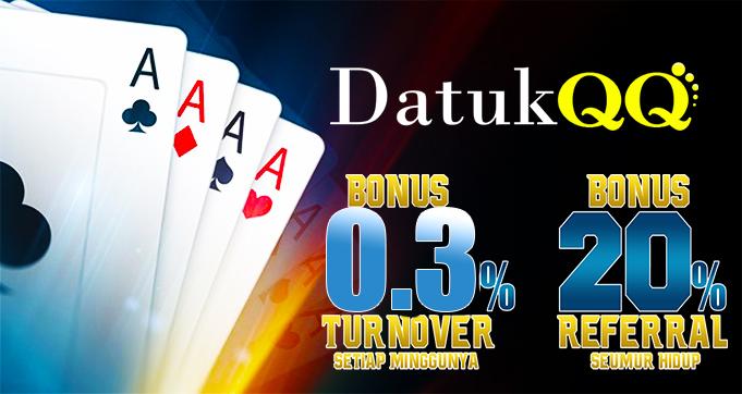 bonus judi poker online terpercaya